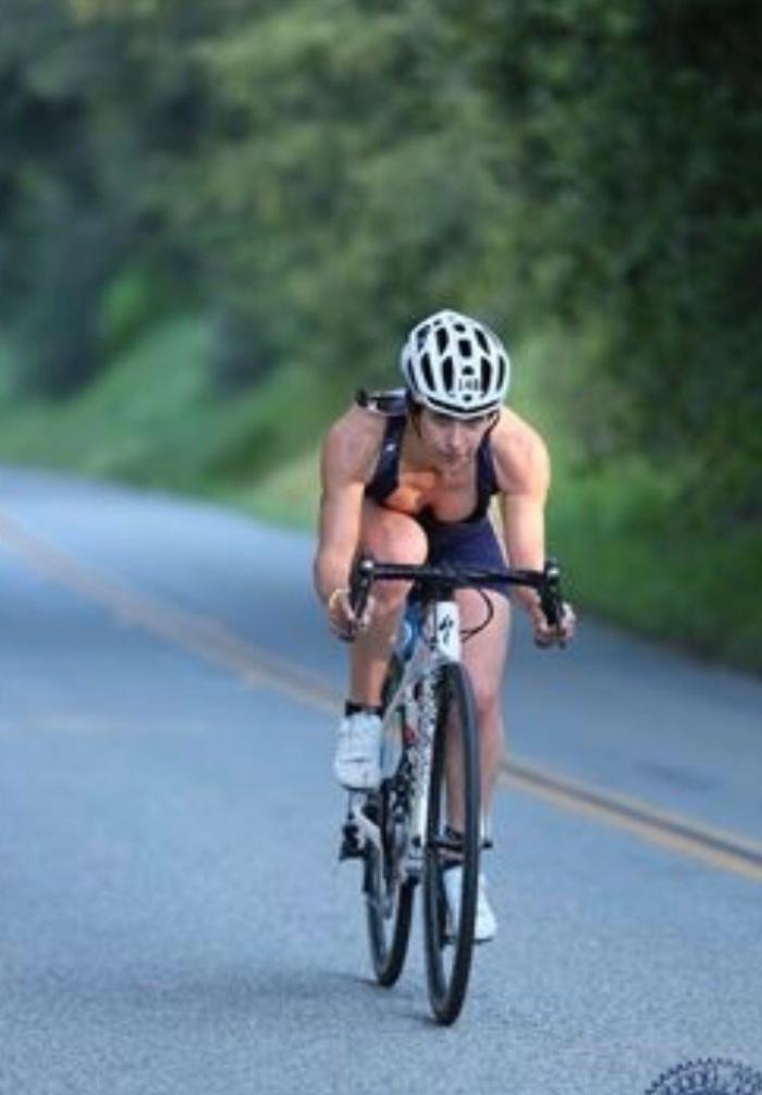 """Because when I race, I feel like I'mFLYING"""